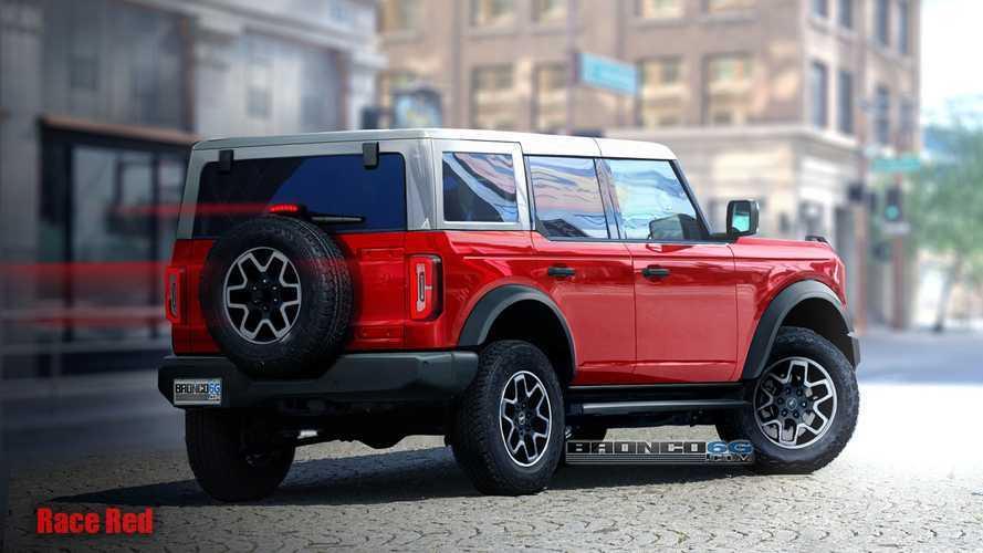 Yeni Ford Bronco'nun farklı renklerde hazırlanmış tasarımlarını görün