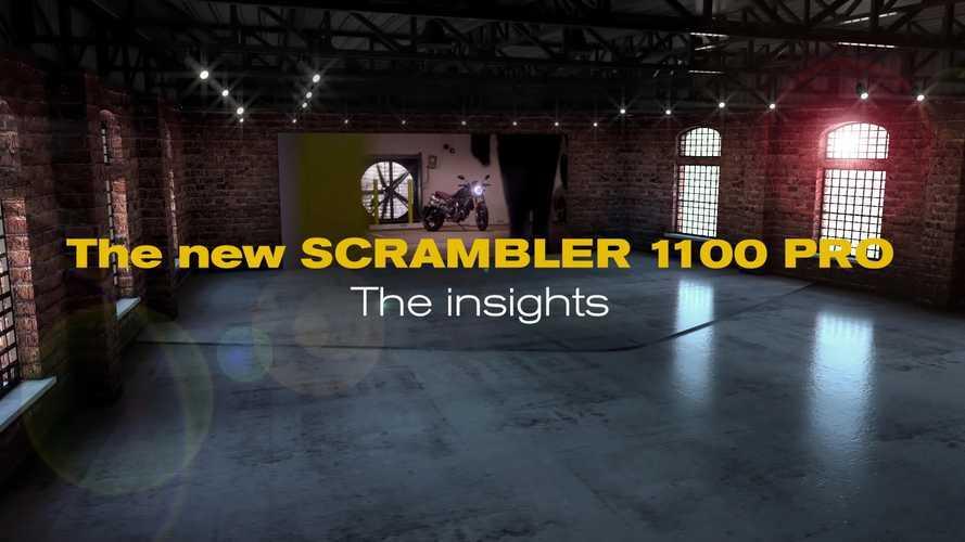 Ducati Scrambler 1100 PRO, i dettagli in realtà aumentata [VIDEO]