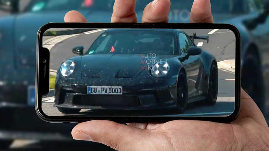La Porsche 911 GT3 sfreccia al Nurburgring, eccola in un video spia
