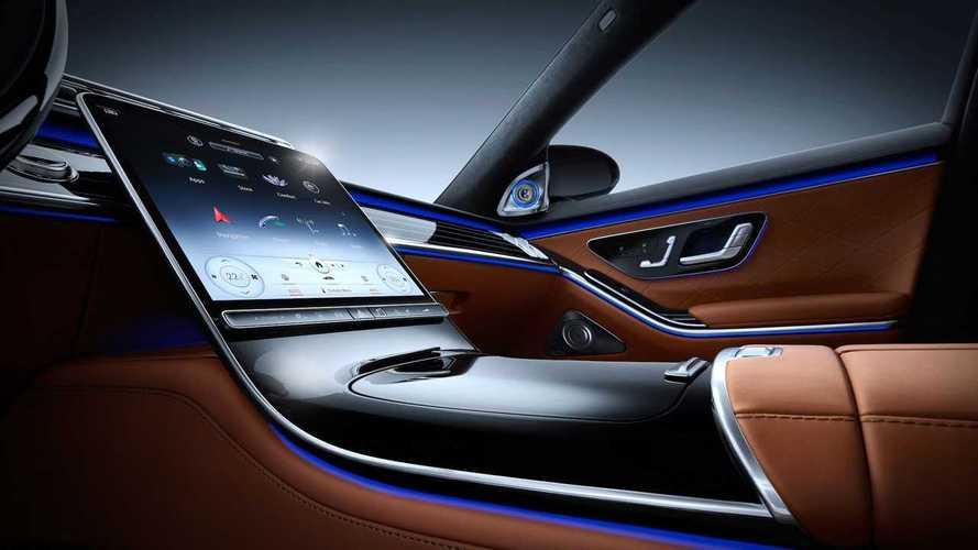 Nuova Mercedes Classe S, i segreti del display del futuro