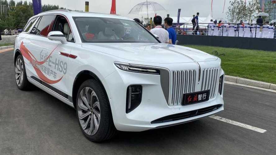 ¿Te gusta el rival chino del Audi e-tron y el Mercedes-Benz EQC?