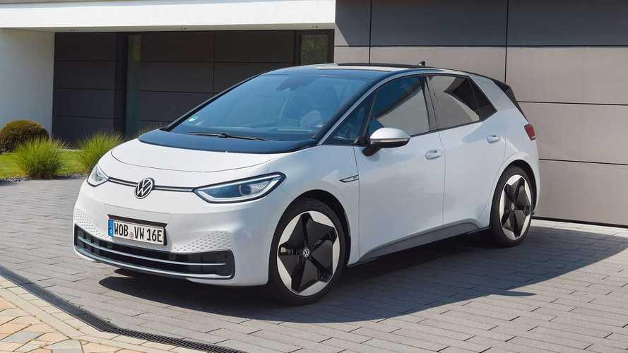 La Volkswagen ID.3 è la seconda auto più venduta a dicembre in Europa