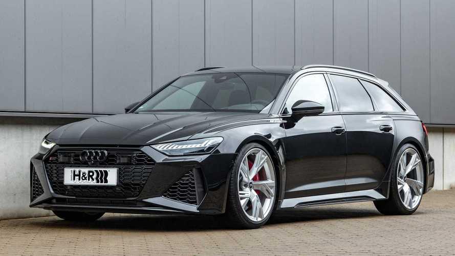H&R-Sportfedern für den neuen Audi RS 6 Avant
