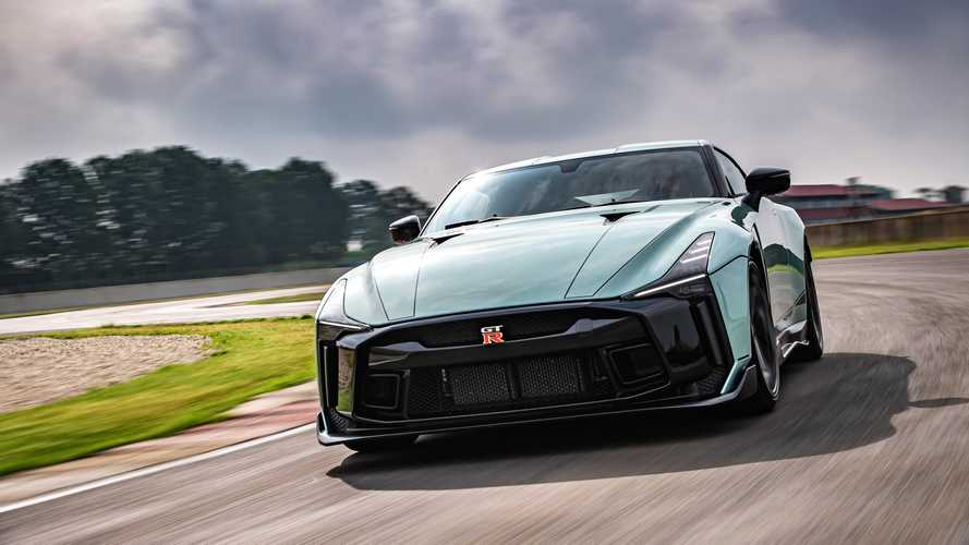Nissan GT-R 50 by Italdesign, la super fuoriserie debutta in Italia