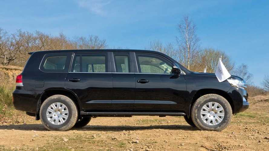 Bulletproof Toyota Land Cruiser Limo By Carat Duchatelet