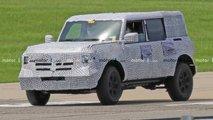 Ford Bronco Sport - Novos flagras sem o teto