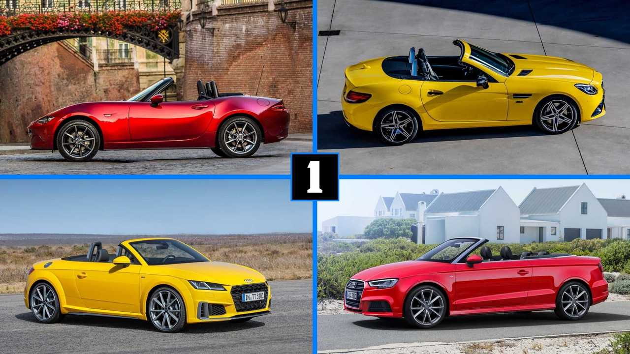 10 new cabrio and roadsters 2020
