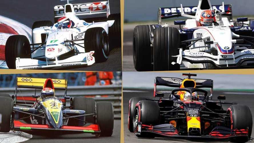 Formula 1'de yer almış 16 otomobil markası