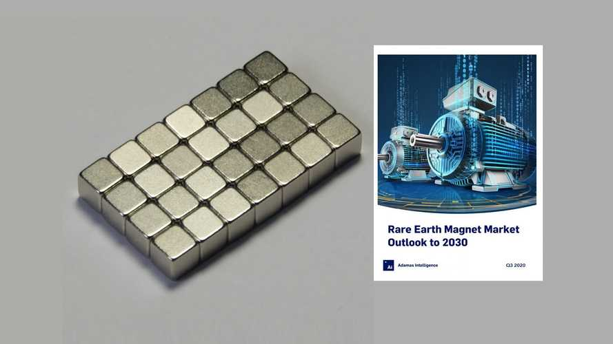 A Quarter Of NdFeB Magnet Production Will Be Used In EVs By 2030