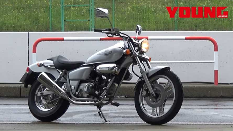 1995 Honda Magna 50 Is The Most Adorable Cruiser You'll See All Day
