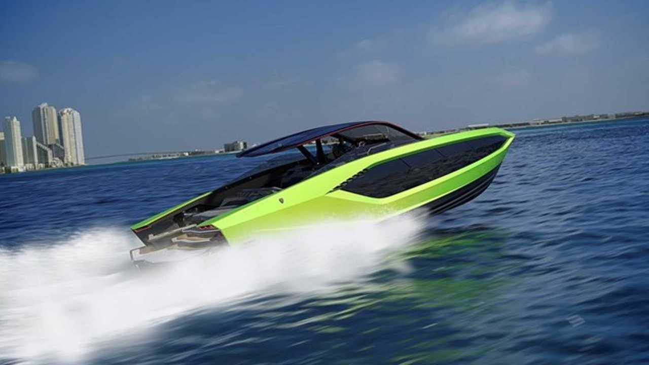Яхта Lamborghini 63 от Tecnomar