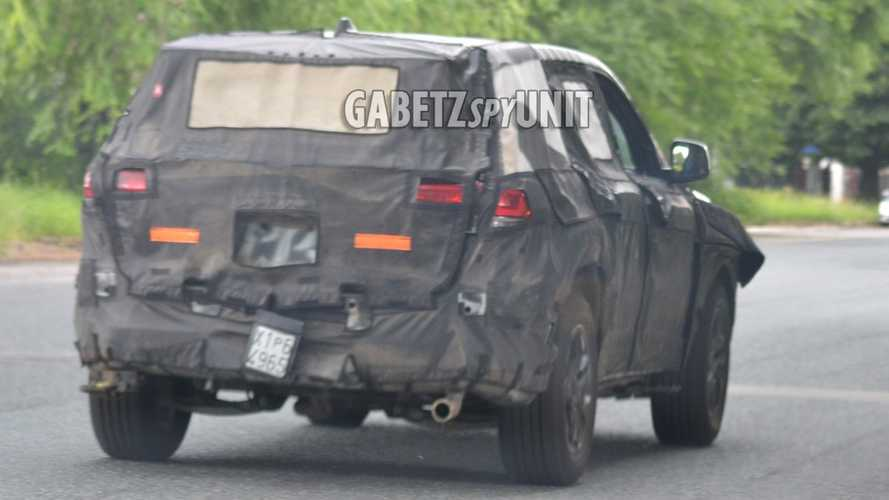 Jeep Grand Cherokee 2021 - Novo flagra