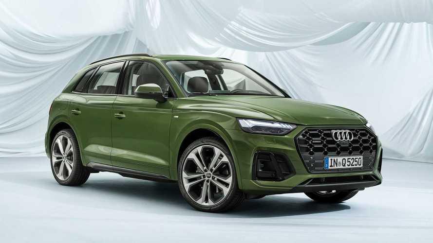 Audi Q5 2021 vira um mini-Q8 com novo design e lanternas OLED