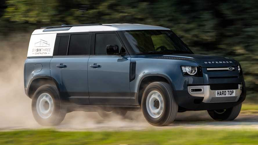 Land Rover Defender goes after commercial buyers with hard top model