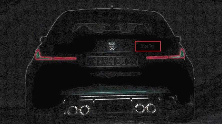 BMW, geçen günkü M3 ve M4 teaser'larında bir şey gizlemiş