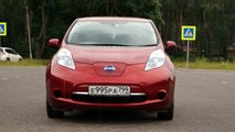 Тест-драйв Nissan Leaf JDM 2012 года