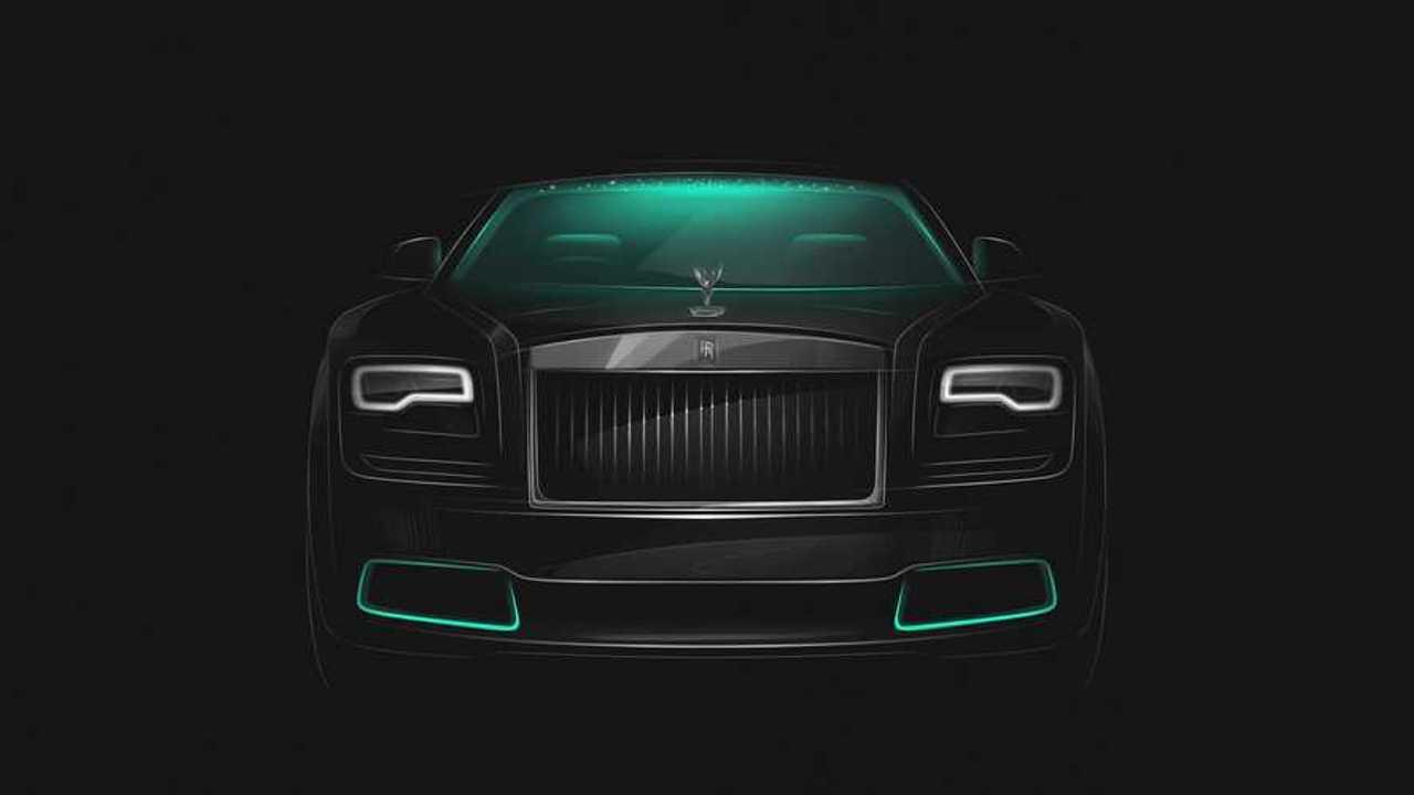 Rolls-Royce Wraith Kryptos Collection (2020)