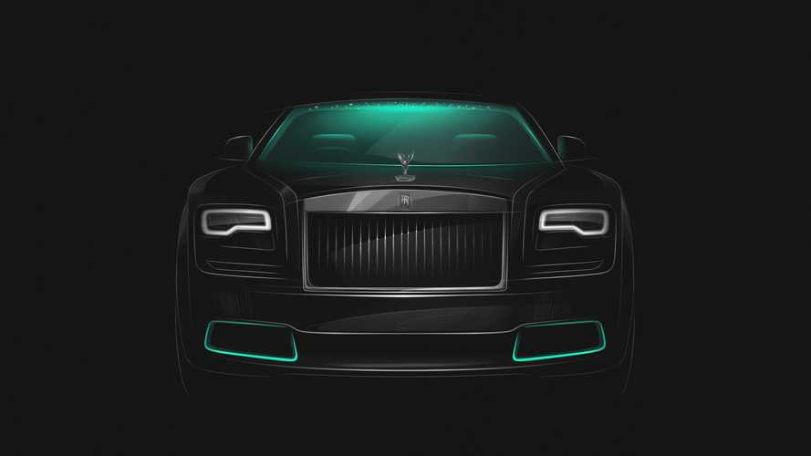 Rolls-Royce reveals first clue for Wraith Kryptos customers