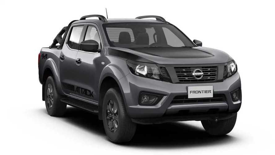 Nissan Frontier Attack - Novas cores