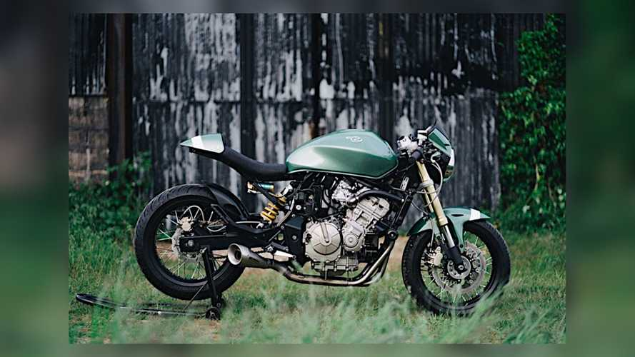 Beautiful Custom Honda Hornet Might Sting If You Get Too Close