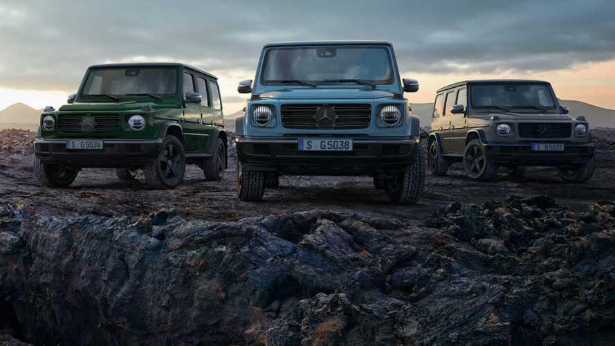 Mises à jour Mercedes-Benz Classe G pour l'Europe