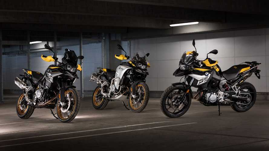 Special Edition BMW F750GS And F850GS Celebrate 40 Years Of The GS