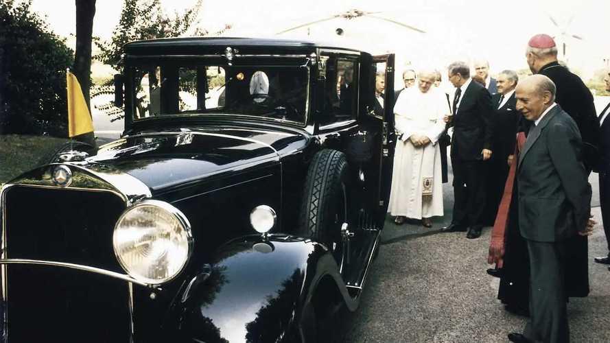 Le Mercedes-Benz Classe G du pape