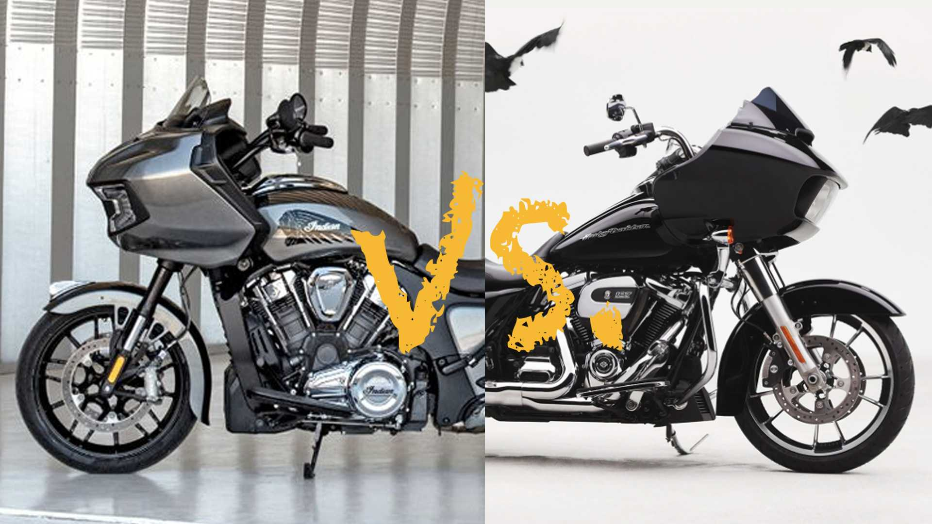 Spec Showdown: Indian Challenger Vs. Harley-Davidson Road Glide