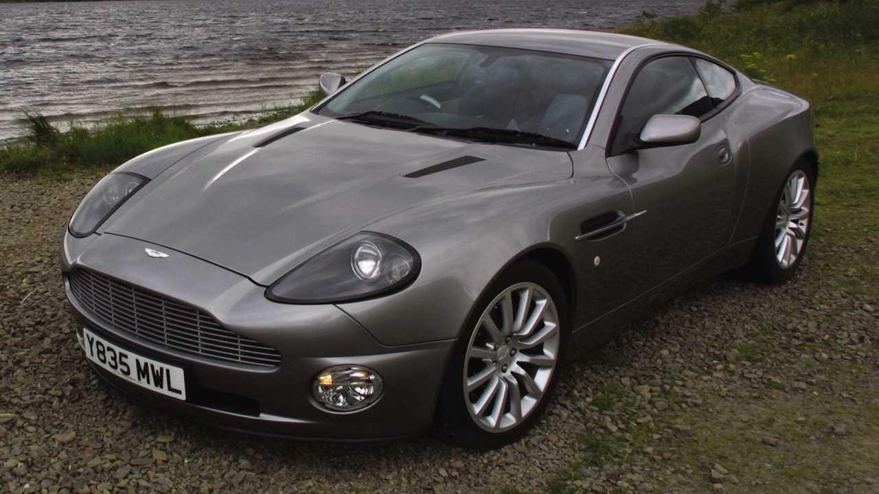 2002-2006 Aston Martin V12 Vanquish