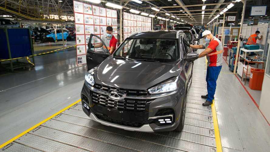 Com Tiggo 8, Caoa Chery comemora marca de 20 mil carros feitos em Anápolis (GO)