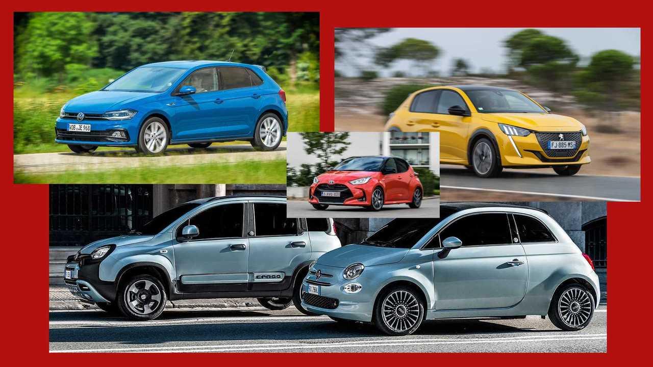 10 Autos mit wirklich niedrigen CO2-Emissionen (Collage)
