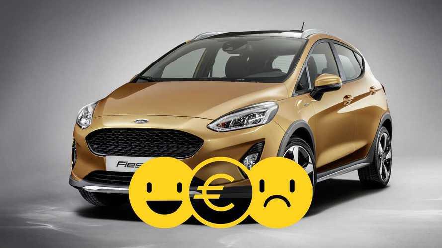 Promozione Ford Fiesta Active Hybrid, perché conviene e perché no