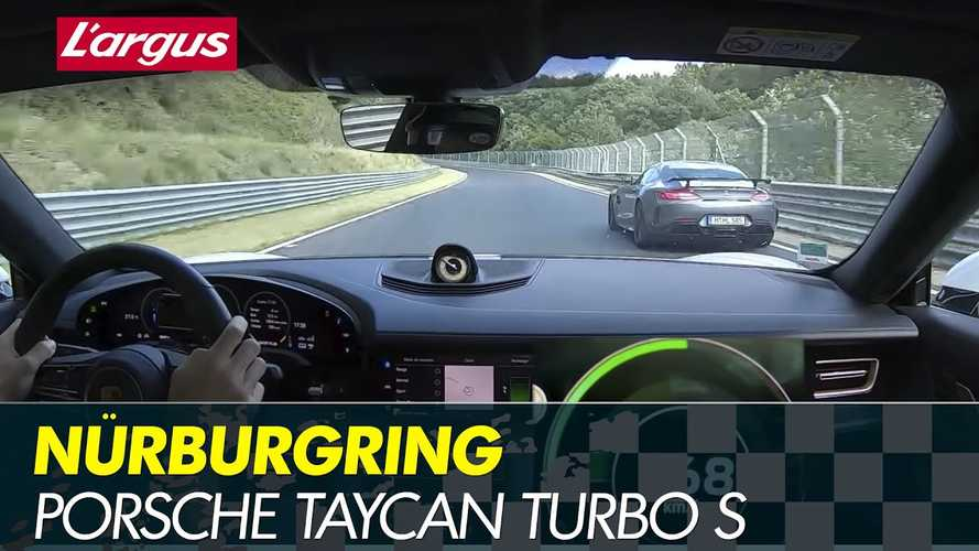 Porsche Taycan Turbo S on Nurburgring takes the fight to ICE sports cars