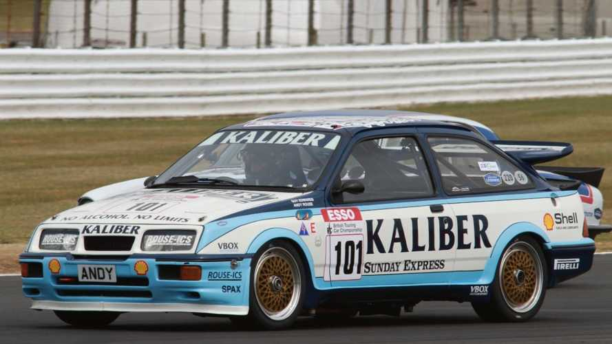 Historic Motorsport: Ex-F1 racer's Sierra RS500 returns to action