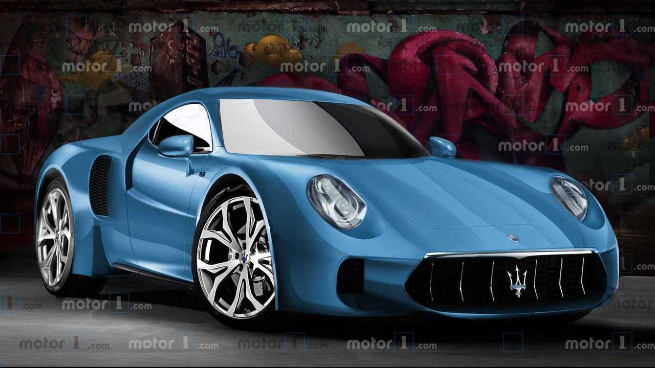 Maserati MC20 rendering
