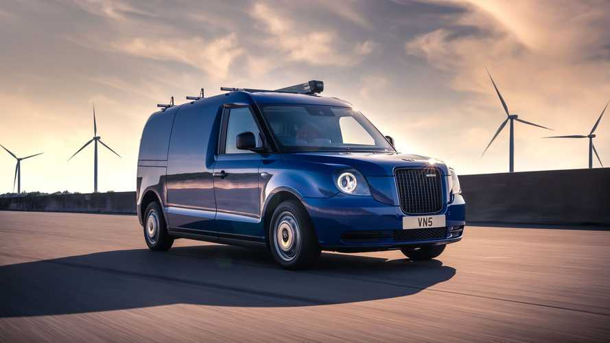 LEVC VN5 electric van open for orders starting at £46,500