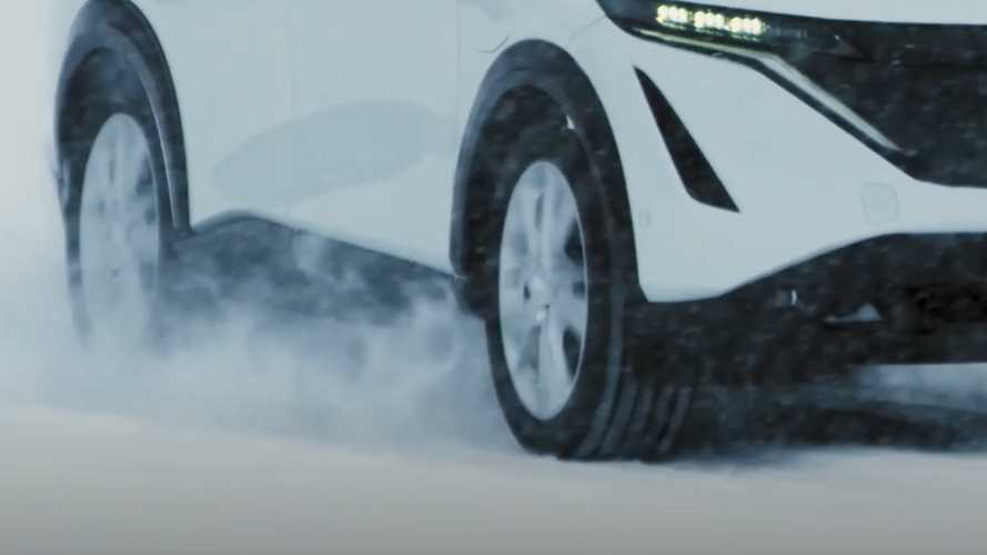 Nissan Ariya electric crossover teased again to ease the wait