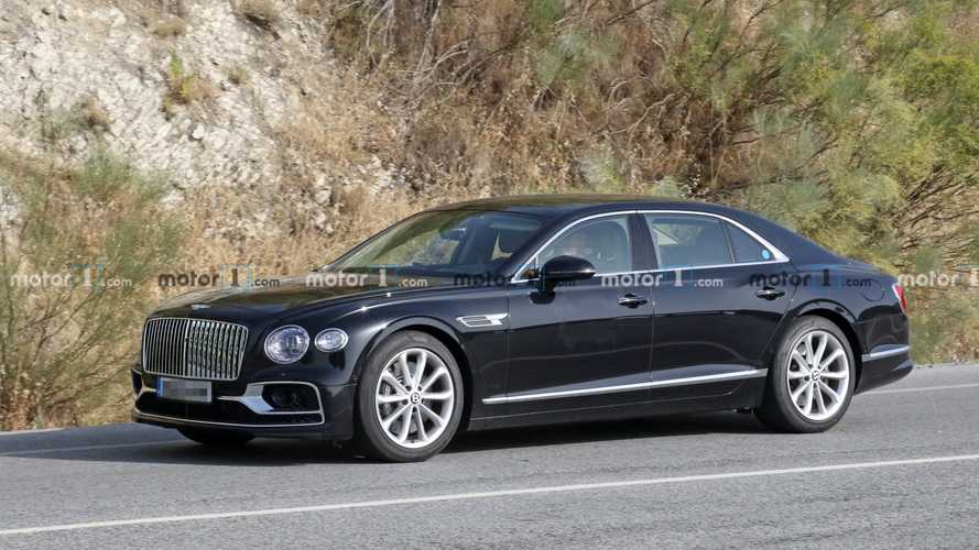 Bentley ya está desarrollando un Flying Spur híbrido enchufable