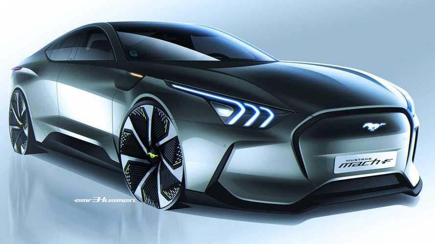 Mustang Mach-F Renderings Imagine A Five-Door Electric Pony