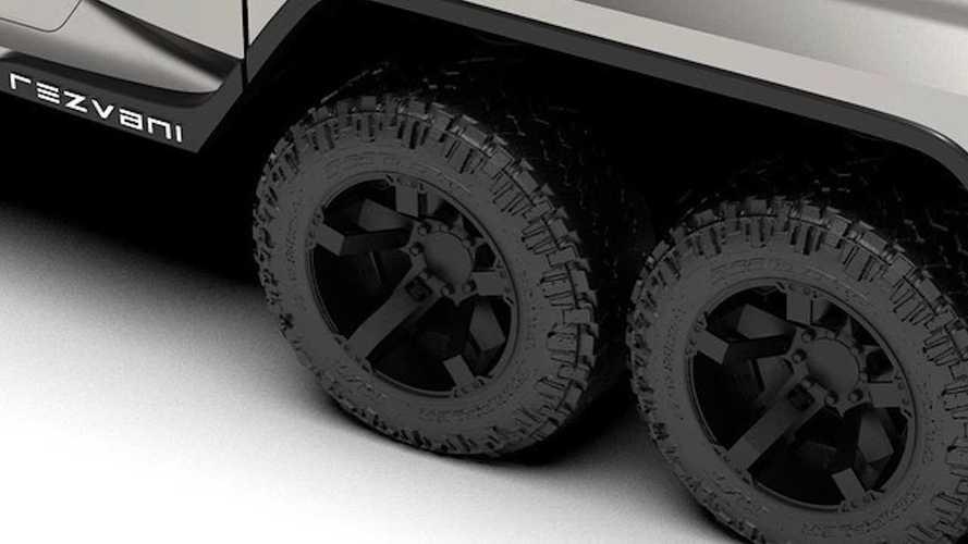 Rezvani, Hercules 6x6 isimli aracına ait yeni bir teaser yayınladı