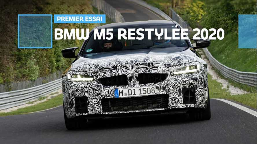 Prise en main de la BMW M5 LCI - Quoi de neuf à l'horizon ?