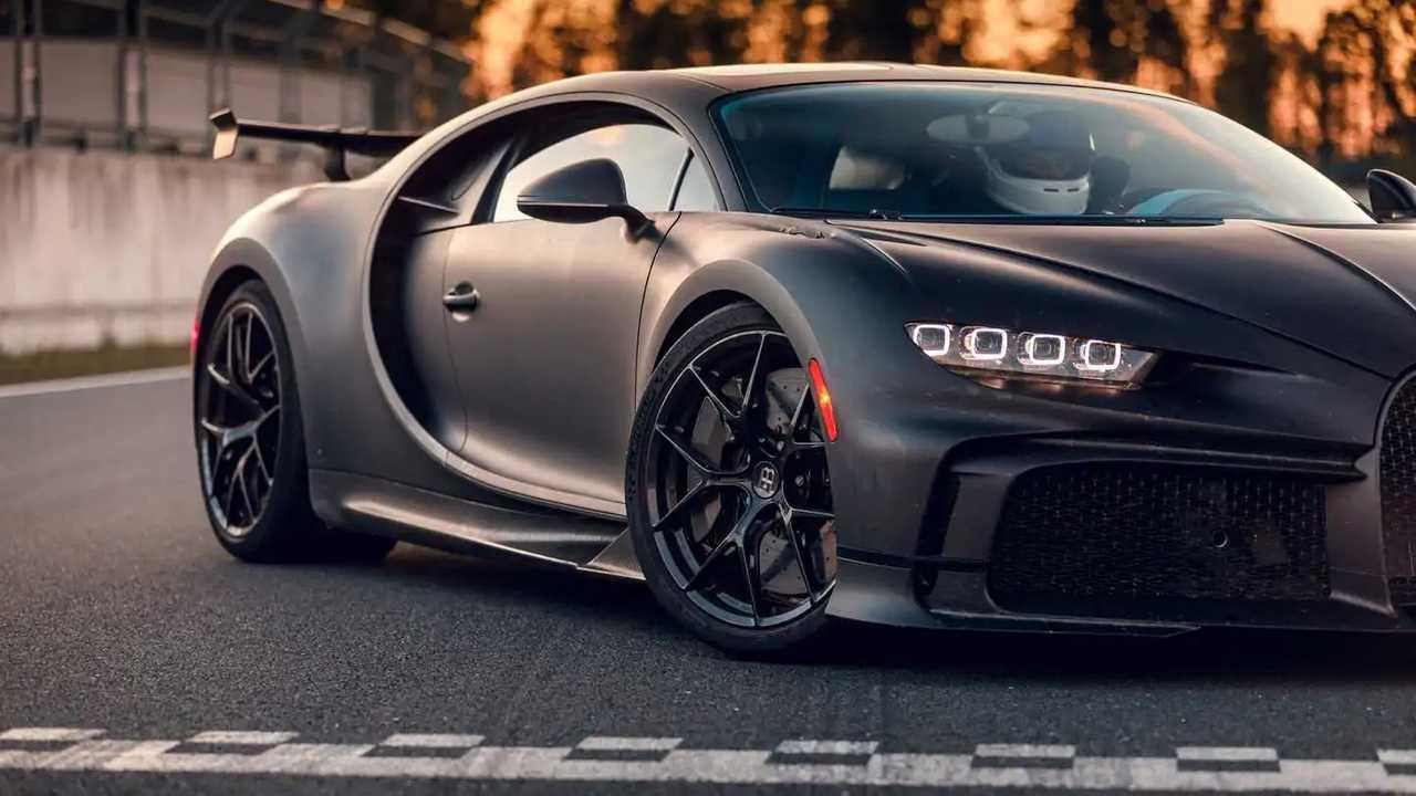 Bugatti Chiron Pur Sport részletek