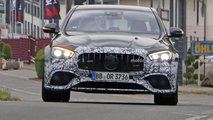 2021 Mercedes-AMG E63 Sedan facelift new spy photos