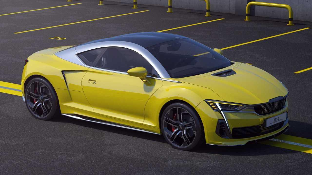 2020 Peugeot RCZ Konzept Rendering