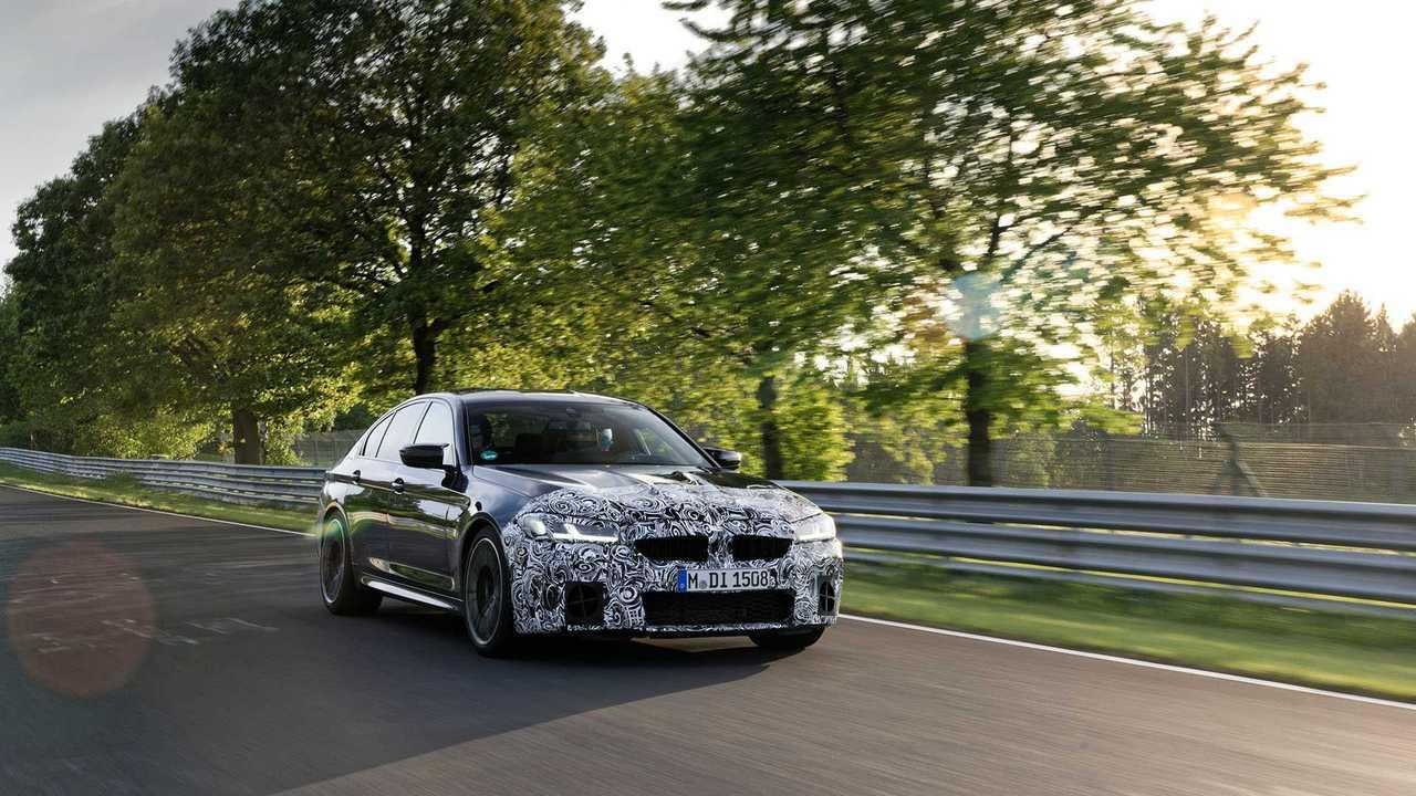 Обновленный BMW M5 - первый тест-драйв
