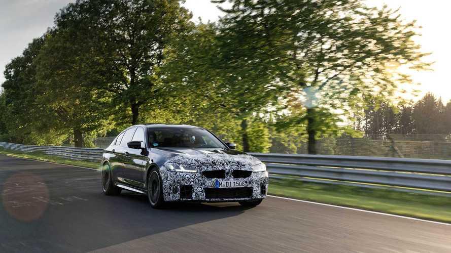 И сразу по Нюрбургрингу! Первый тест обновленного BMW M5