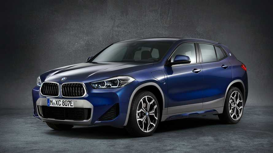 2021 BMW X2 xDrive25e PHEV Debuts With 217 HP, 35 Miles Of EV Range