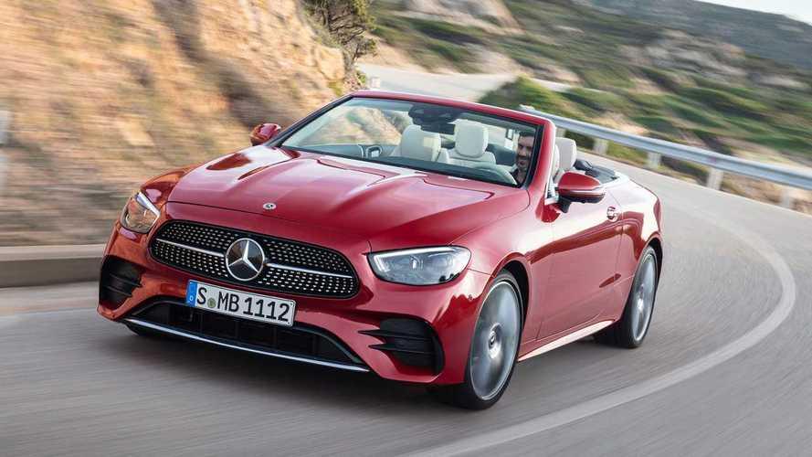 Mercedes-Benz Clase E Coupé y Cabrio 2020: ahora también microhíbridos