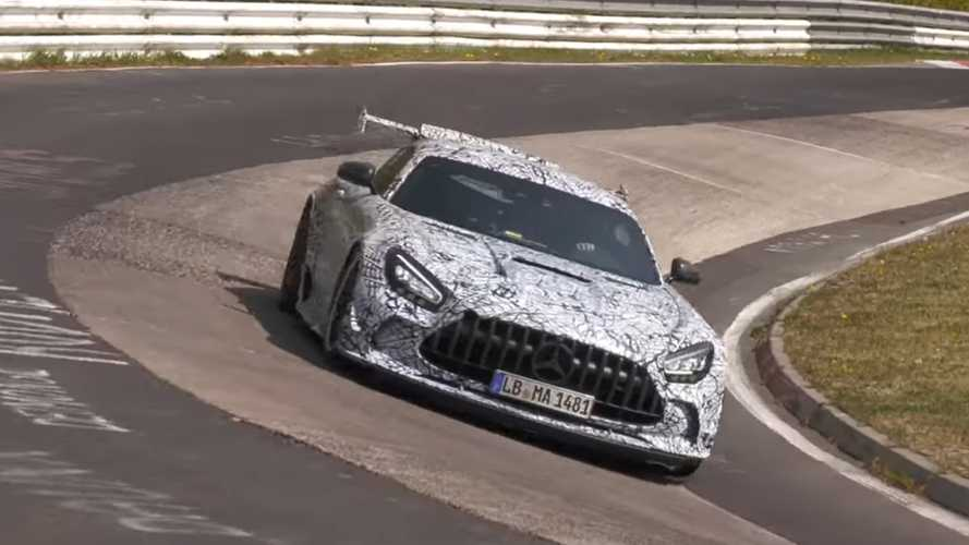 See AMG GT Black, BMW M3 And Other Prototypes Attack The Nurburgring