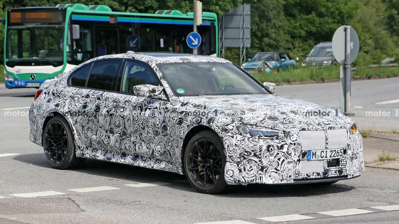 2022 BMW M3 CS casus fotoğraf